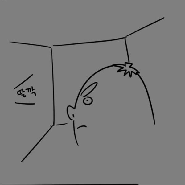 끄아악의 똥싸다 화장실에 갇힌만화